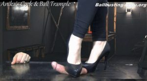 Damaging your Balls in my Dungeon! HD – Anikas Cock and Ball Trample
