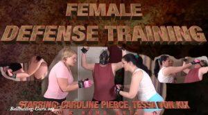 Ballbustin' & Foot Lovin' – Female Defense Training – CAROLINE PIERCE, TESSA VON KIX