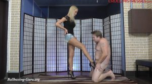 CRUEL MISTRESSES – Firm kick – Mistress Ariel