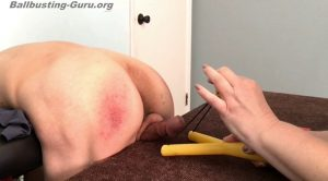 Juicing UR balls – Ms Kimi busts ur balls