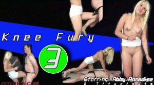 Ballbustin' & Foot Lovin'  – Knee Fury 3 – Abby Paradise