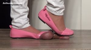 Lady Latisha Trample In Pink Ballerina Shoes Part 2 – Close Up! – Customers Request Clip – High Heels Goddess – Lady Latisha