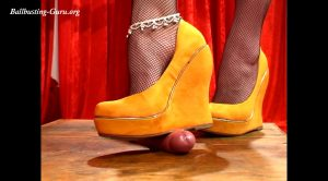 Watch my new wedges HD – DOMINATED BY HEELS – Mistress Julia