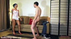Bust n' Go Sperm Bank: The Second Busting – Ballbusting Beauties