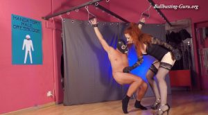 Mistress Lady Renee´s punching bag