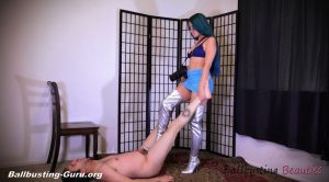 Photoshoot of Pain and Humiliation – Ballbusting Beauties – Alex Coal