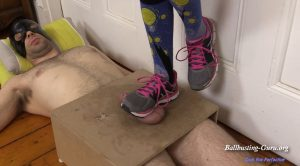 Running Shoes 2 CBT – Cock Box Perfection