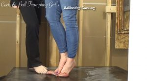 Trampled, Stomped and Miked by two barefoot Dommes! ALT HD – Cock and Ball Trampling Girls – Goddess Anika, Mistress Whiskey