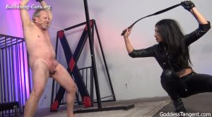 Ball And Back Destruction – Goddess Tangent World of Femdom
