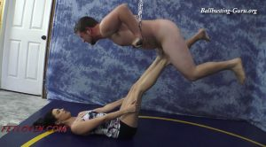 Ball Press Workout – MP4 Large – Ballbustin' & Foot Lovin' – Nikki Next
