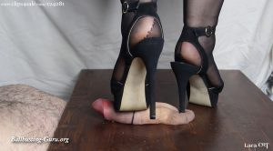 Black Heels Crushing HD – Lara CBT Clip Store