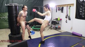 Full Force Kick Workout – MP4 Large – Ballbustin' & Foot Lovin'