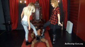 LAY DOWN LITTLE BOY – chicks-vs-balls – Kara, Luckily