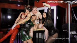 MISTRESS GAIA – NAILED BY THE BALLS