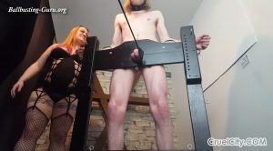 Mistress Scarlett and Miss April Torture Their Slave`s Cock! – Cruel City