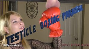 Testicle Boxing Paradise – Ballbustin' & Foot Lovin' – Abby Paradise