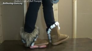 Winter boots Cock and Ball Crush! ALT HD – Anikas Cock and Ball Trample