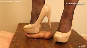 Aldo Nude Heels Tryout HD – Lara CBT Clip Store