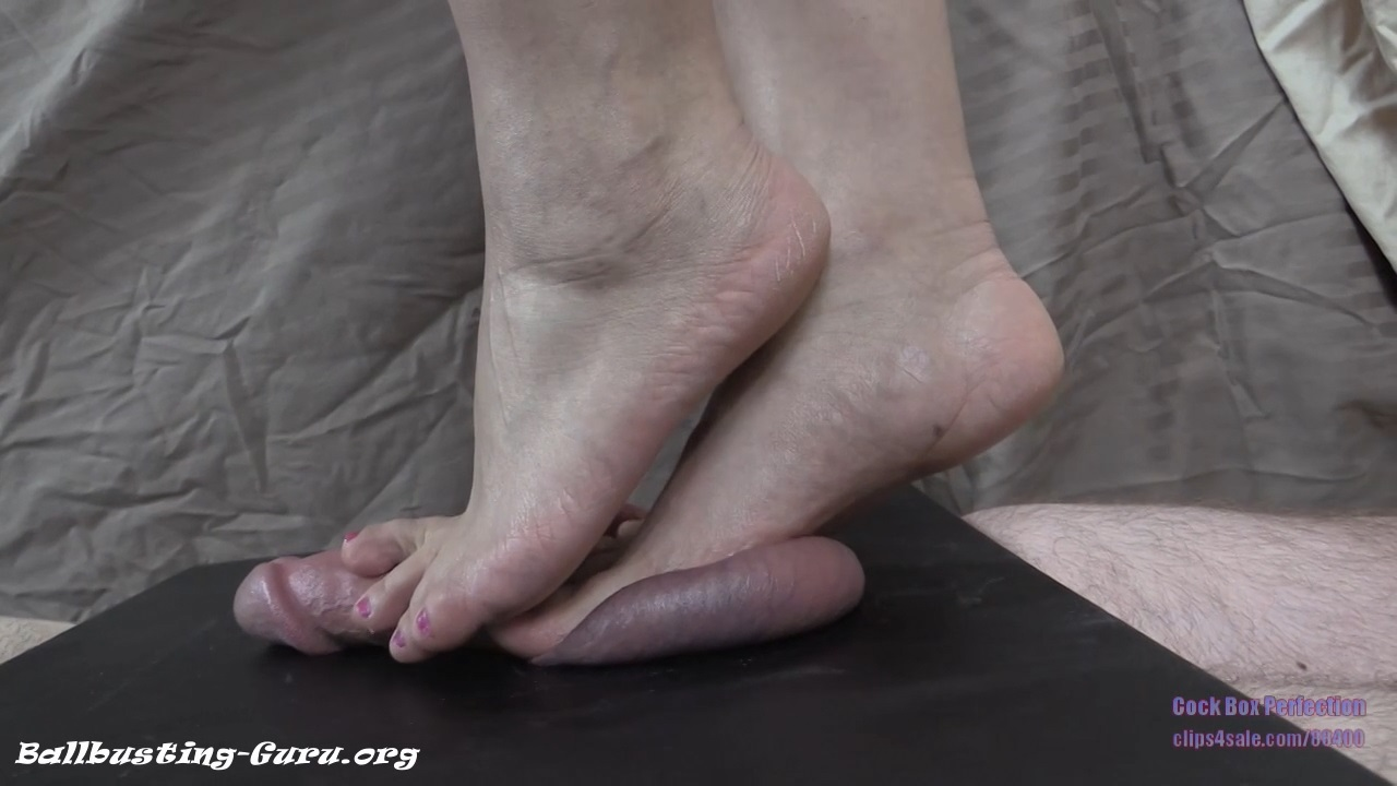 Ball Trampling Porn angela high heel, barefoot and butt testicle crush - cock