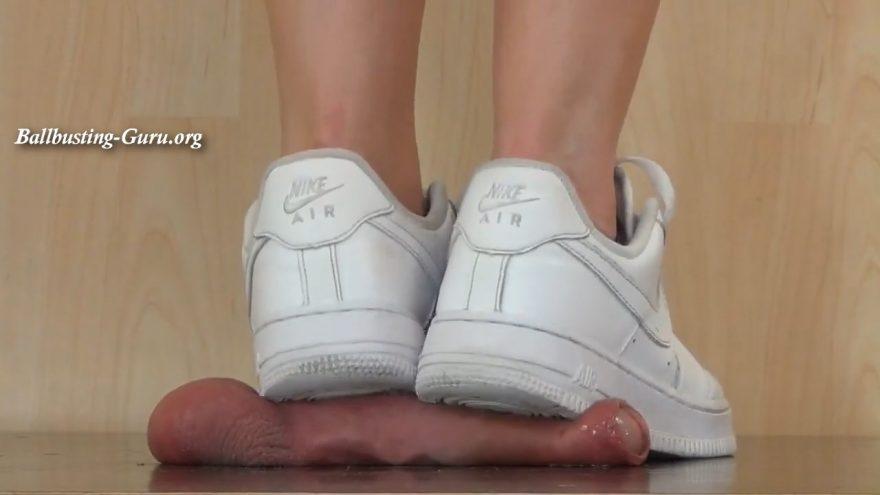 Cock Crush Under Nike Air