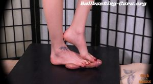Barefoot Brutality – Dick in a Boxxx