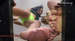 Ballbustin' & Foot Lovin' – Females Standing on Testicles – Miss Tiffany, Jolene The Valkyrie