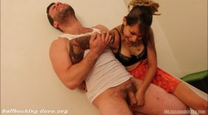 The Wolf – Pop His Nuts! – MILKED AND BUSTED