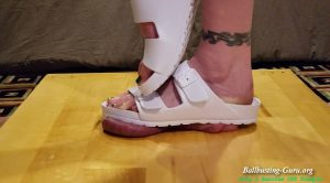 Fugly Sandals Fuck You Up – Twig And Berries CBT Trample