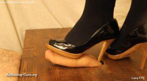 Worn Heels Cock Crush HD – Lara CBT Clip Store