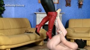 013. Boots torture by Lady Satori – complete – Sexy Lady Boots and High Heels