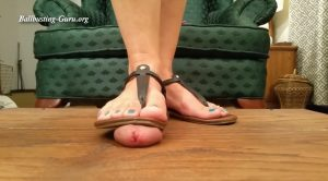 Inshoe Sandal Crush and Trample – Trample and Crush Paradise