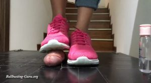 Pink Nike stomp – ONLY ASIANS CRUSH