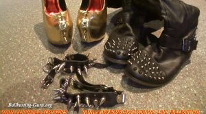 We Love Ballbusting – Record Breaking Sacrifice Part 1! sharpened heel swiping!