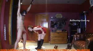 We Love Ballbusting – Record Breaking Sacrifice Part 2! First Brutal Spiked Boots!