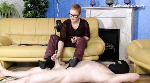 rpaac. Cock torture of Mistress Victoria – complete – Sexy Lady Boots and High Heels