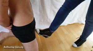 Nutkicks With Wedge Heels And Barefoot – Aesthetic Trampling