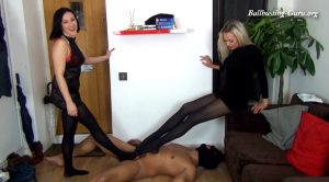 chicks-vs-balls – SCRAMBLED EGGS BETWEEN HIS LEGS – Kara & Alex