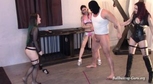 Sore loser needs to be Humbled: 3 on 1 Penalty Kick BALLBUSTING – Villa Aspasia