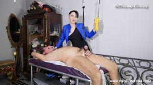 Stupid slave deserves cock torture – Padrona Era