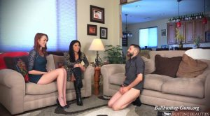 Are You Man Enough for My Daughter?! – Ballbusting Beauties
