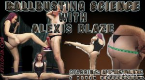 Ballbusting Science with Alexis Blaze – Ballbustin' & Foot Lovin'