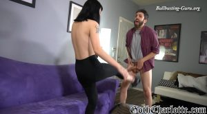 Ballbusting and Face Sitting Black Out – Goth Charlotte