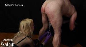 Jingle Balls CBT Slave for Goddess – Mistress Salem