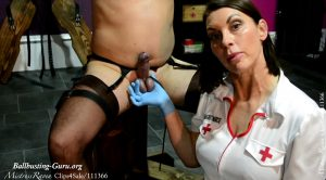 A Needle Through The Balls – Mistress Raven UK Dominatrix