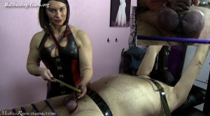 Ball Torture Cropping & Caning – Mistress Raven UK Dominatrix