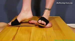 Slipper Sandals Stepping – Twig And Berries CBT Trample