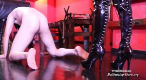 Mistress Iside – MERCILESSLY BALLBUSTING HD