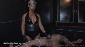 MISS CHEYENNE – MERCILESS BALLTORTURE – PART 2 – FEMDOMBEAUTIES