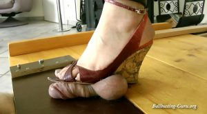 Boot Heel Worship Cbt Humiliation – Lady Janet – WorthlessCockUnderSoles