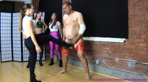 Brat Princess 2 – 150 Kick Fail Ends in Broken Slave